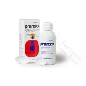 PRANZO 62,5 / 1,25 / 0,5 MG/ML SOLUCION ORAL, 1 FRASCO DE 200 ML